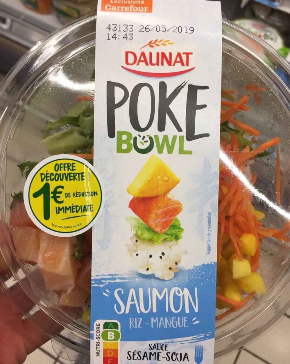 Poke bowl saumon - Product