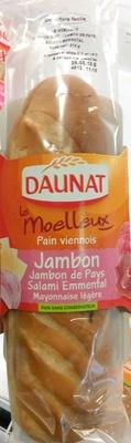 Le Moelleux Pain viennois Jambon - Produit