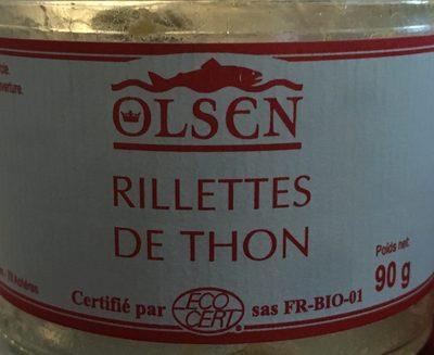 Rillette de thon - Produit - fr
