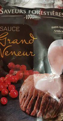 Sauce grand veneur - Product - fr