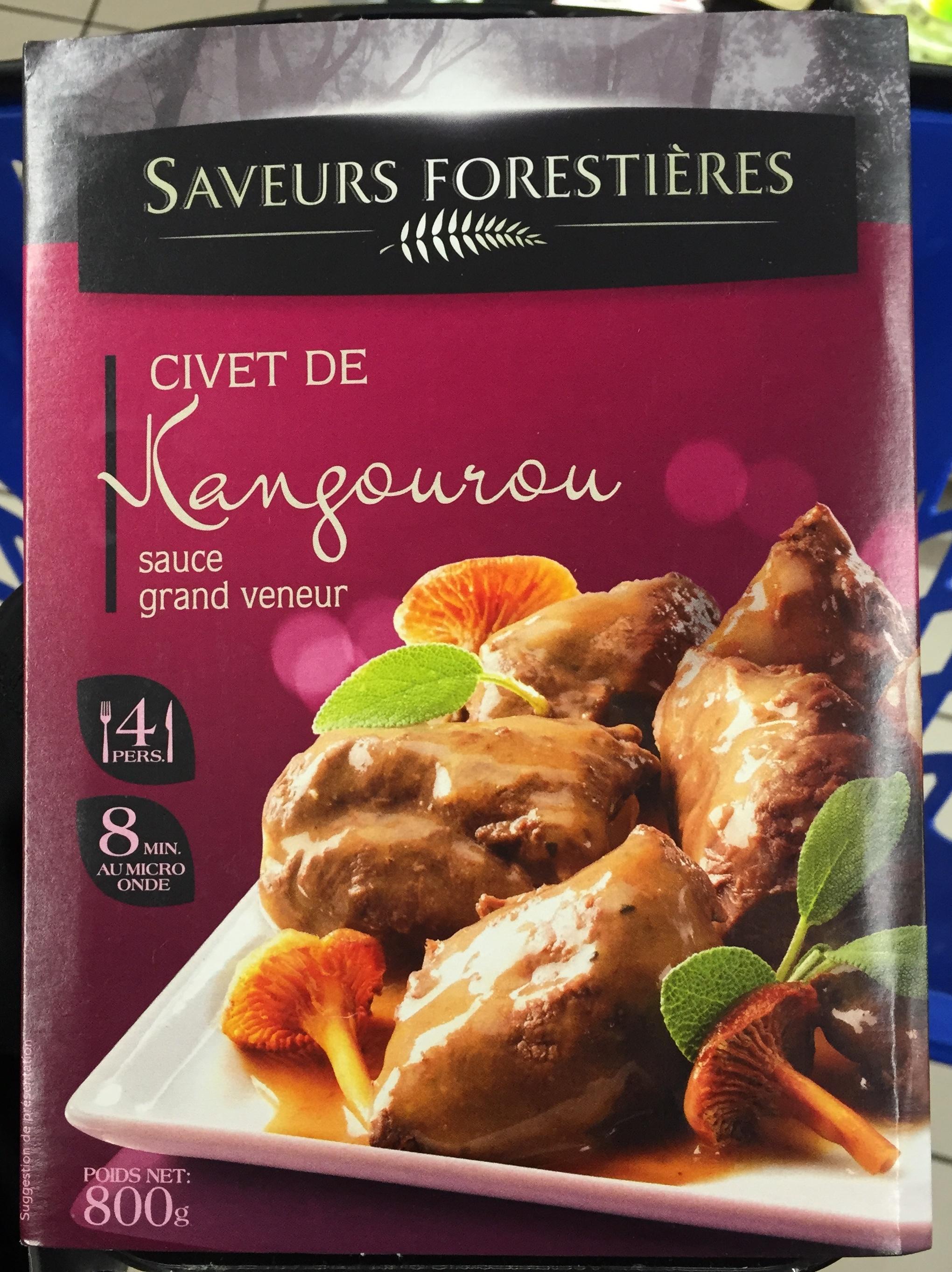 Civet de Kangourou sauce Grand Veneur - Product - fr