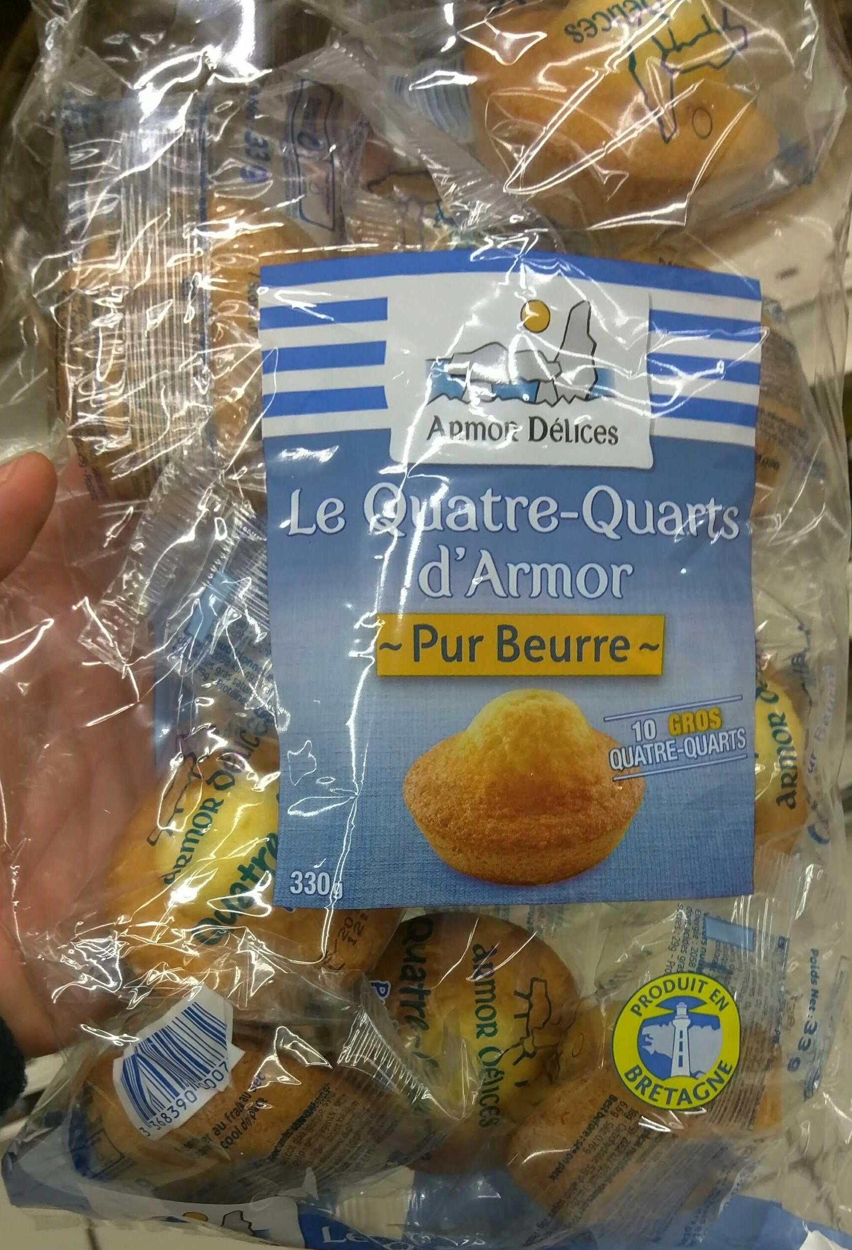 Le Quatre Quarts d'Armor Pur Beurre - Product - fr