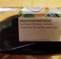 Essence vanille - Ingredients - fr