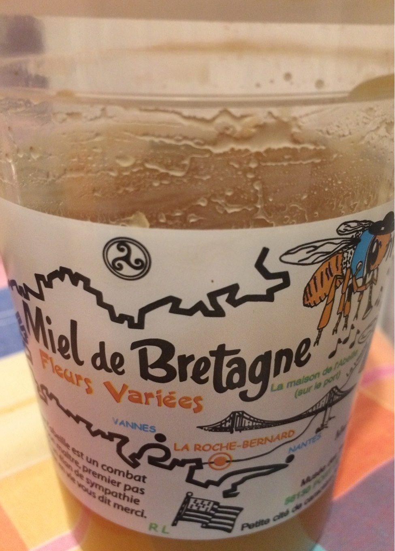 Miel de Bretagne fleurs variées - Product