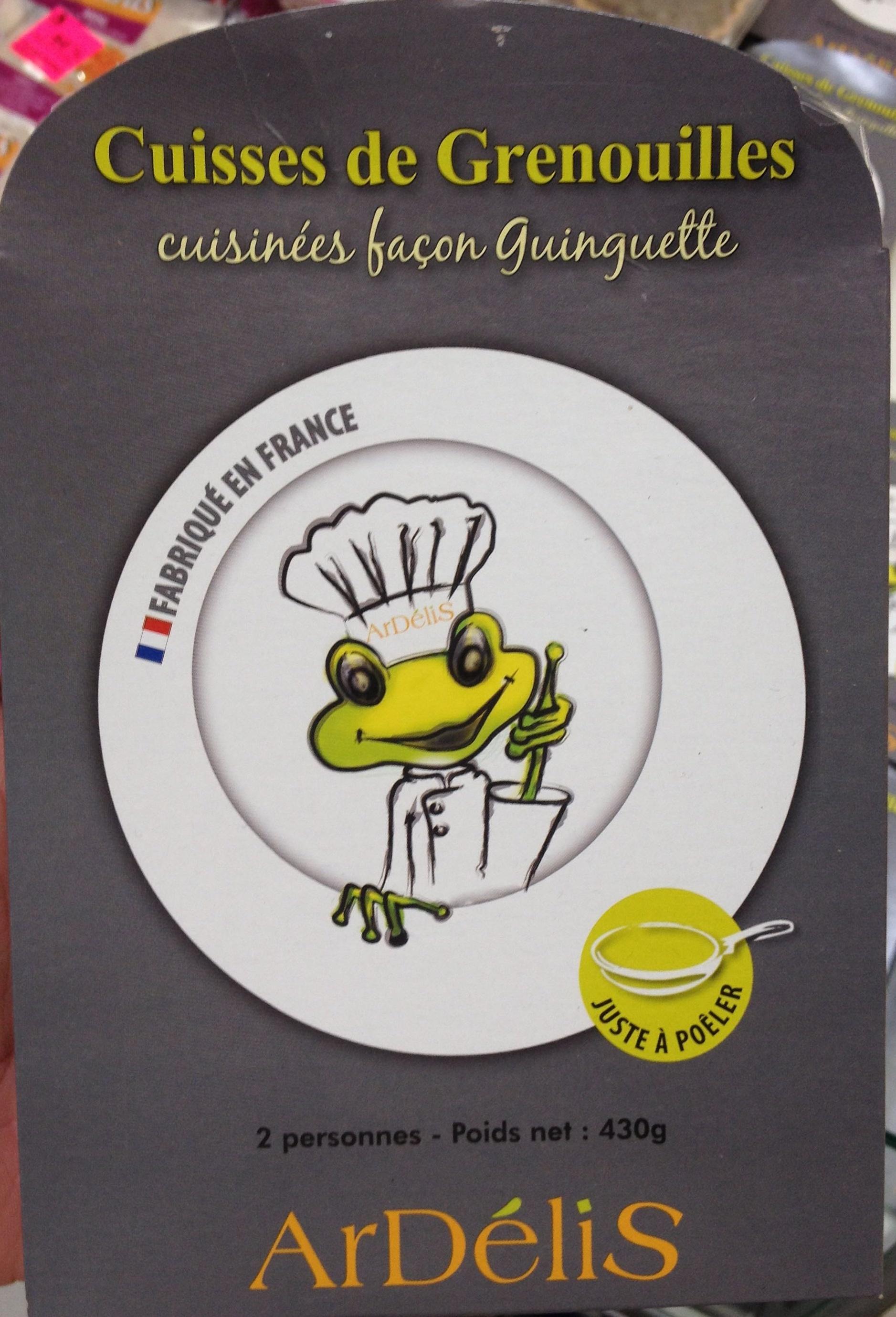 Cuisses de Grenouilles cuisinées façon Guinguete - Produit - fr