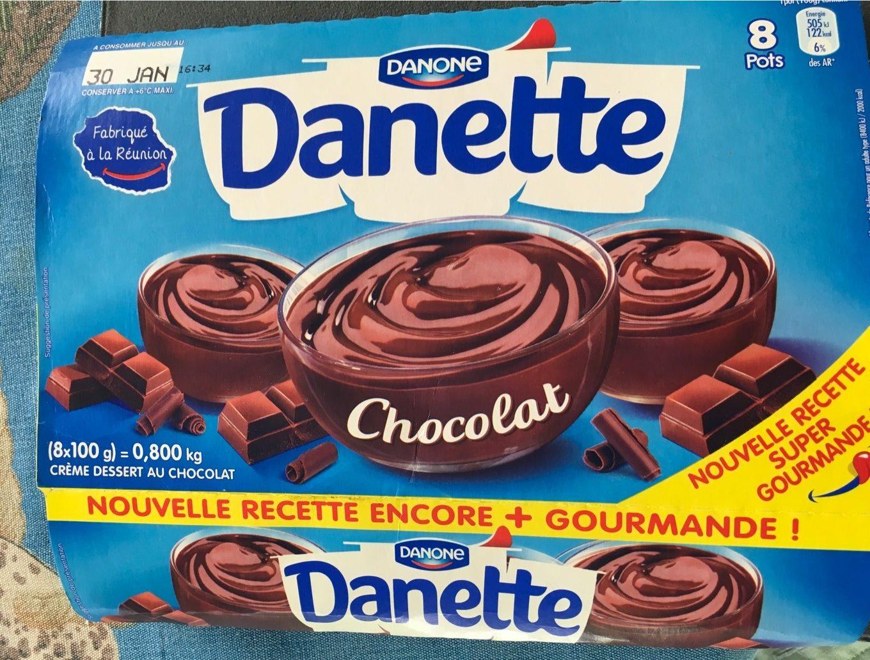 Danette Chocolat - Product