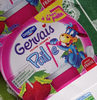 Gervais Paille saveur Fraise - Produit