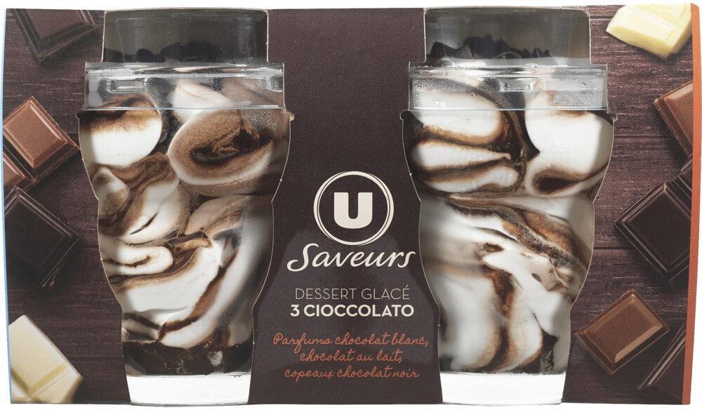 Dessert glacé 3 cioccolato Saveurs - Produit - fr