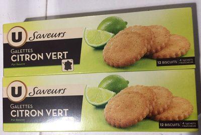 Galettes citron vert - Produit - fr