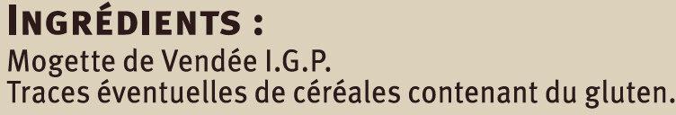 Mogettes de Vendée IGP Saveurs - Ingredients - fr