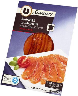 Emincés de saumon fumé tomate basilic - Product - fr