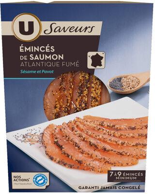Emincés de saumon fumé sésame pavot - Product - fr