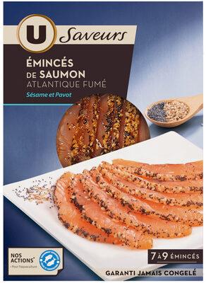 Emincés de saumon fumé sésame pavot - Product