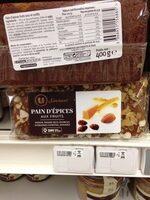Pain d'épices aux fruits Saveurs - Produit - fr