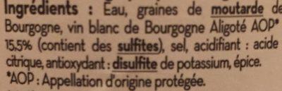 Moutarde de bourgogne - 3