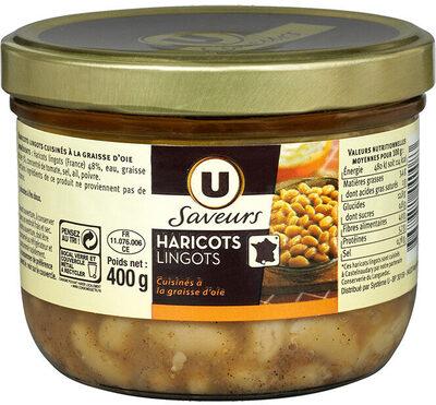 Haricots lingots à la graisse d'oie - Product