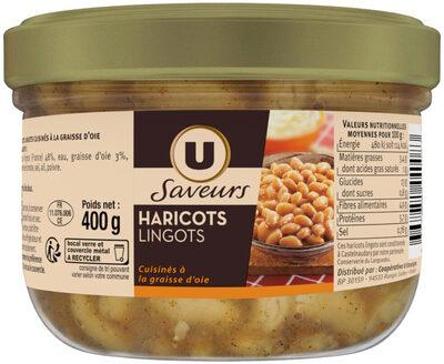 Haricots lingots à la graisse d'oie - Product - fr