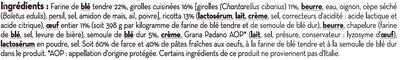 Cappellacci à la ricotta et aux girolles - Ingrédients