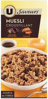 Muesli croustillant chocolat au lait et chocolat noir caramel - Product