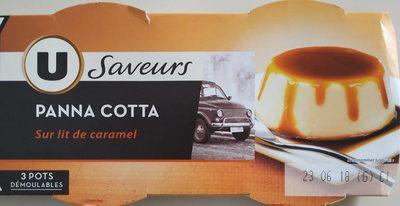 Panna Cotta au caramel - Produit