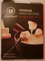 Préparation pour fondue 4 fromages Suisse sans alcool 16% de MG - Product