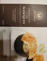 Cassolettes lutées de Saint Jacques sauce crémeuse au Sancerre - Product - fr