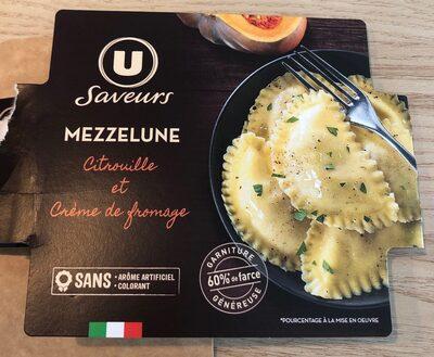 Mezzelune citrouille et crème de fromage - Product - fr