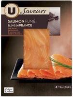 Saumon de France fumé aux bois d'arbres fruitiers - Produit - fr