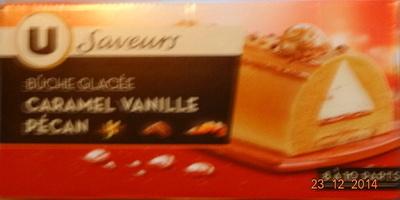 Bûche glacée, caramel vanille pécan - Product - fr