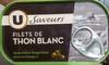 Files de thon blanc à l'huile d'olive - Product