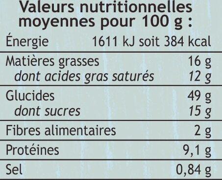 Brioche Vendéenne tréssée oeufs plein air LABEL ROUGE Saveurs - Ingredients - fr