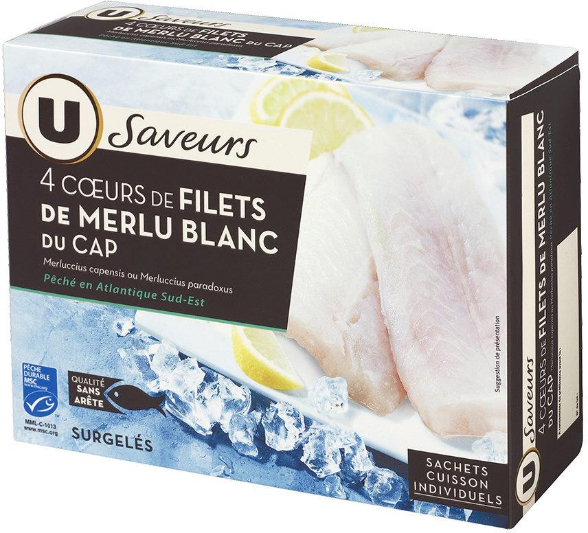 Coeurs de filet de merlu blanc du Cap - Produit - fr