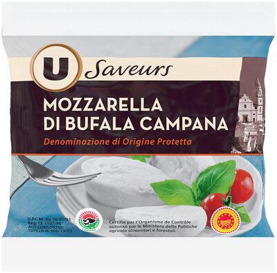 Mozzarella di bufala Campana DOP au lait pasteurisé 25% deMG - Product - fr