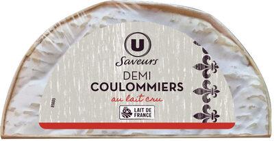 Demi coulommiers au lait cru - Produit - fr