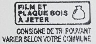 Demi coulommiers au lait cru - Instruction de recyclage et/ou informations d'emballage - fr