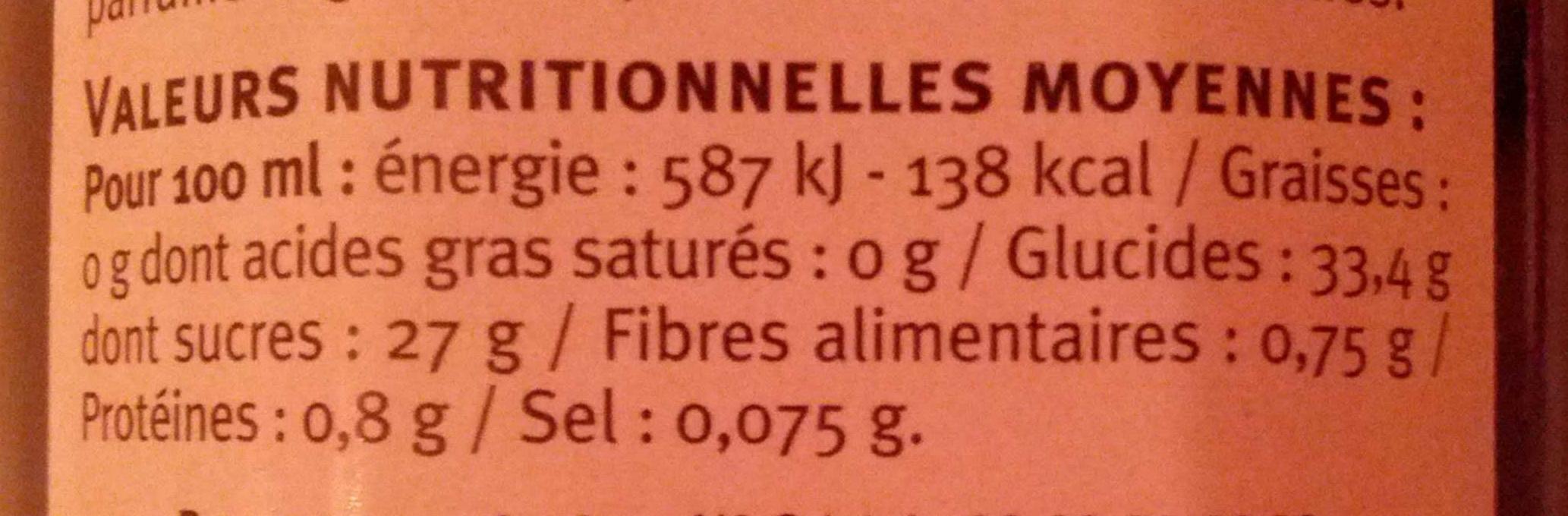 Vinaigre balsamique u saveurs 50 cl - Vinaigre balsamique calorie ...