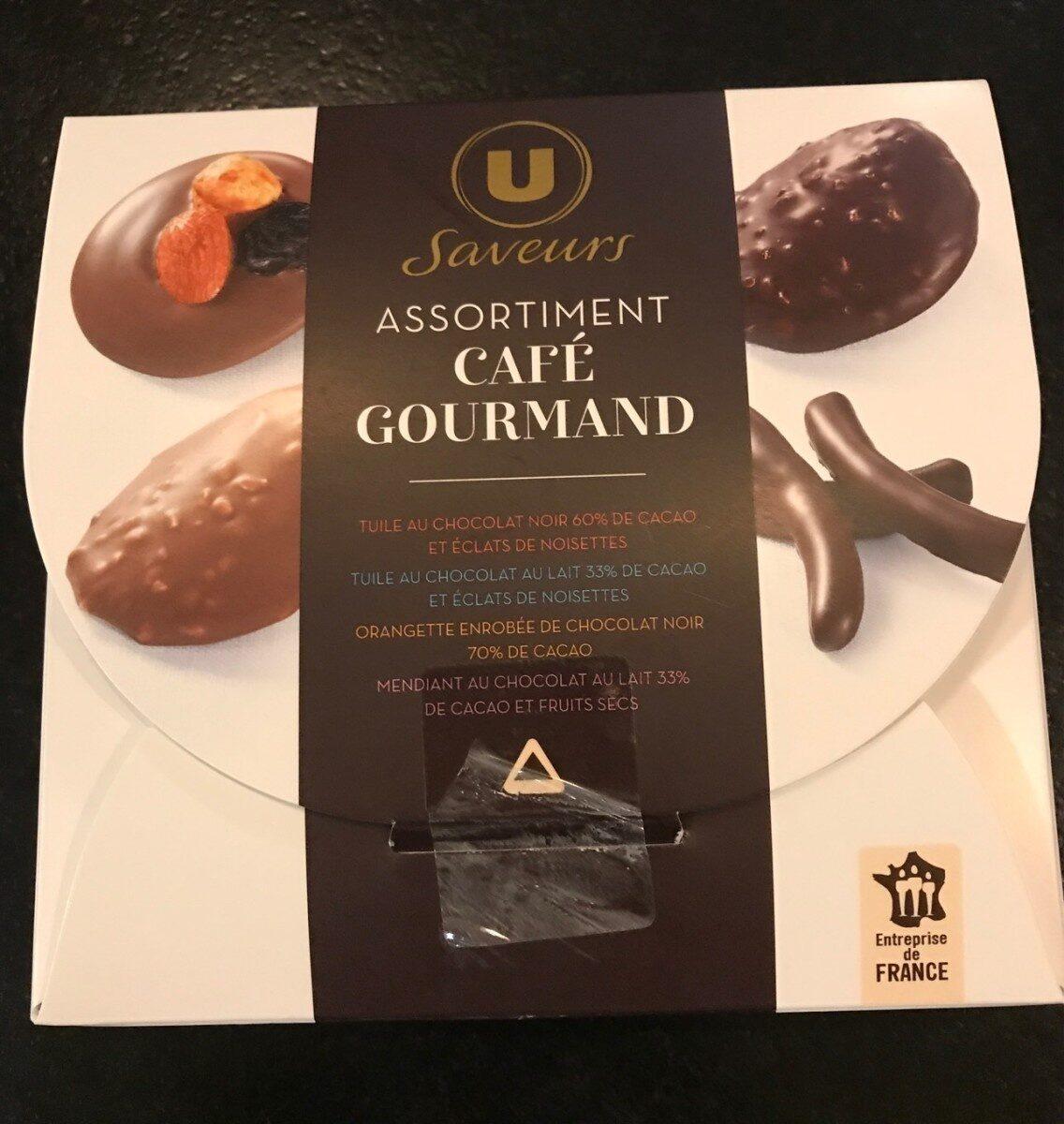 Assortiment café gourmand - Product