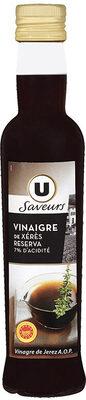 Vinaigre de vin de Xérès - Product