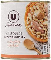 Cassoulet au confit de canard Saveurs - Product - fr