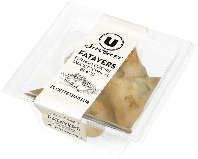 Fatayers chèvre épinard - Produit - fr