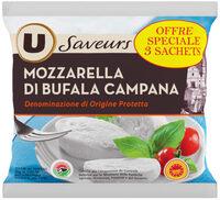 Mozzarella AOP di bufala Campana au lait pasteurisé 25% deMG - Product