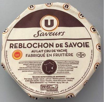 Reblochon Fruitier De Savoie Au Lait Cru De Vache - Product - fr