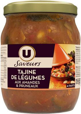 Tajine de légumes aux amandes et pruneaux - Produit - fr
