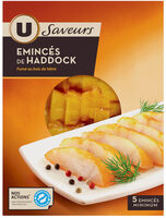 Emincés de haddock fumés Saveurs - Product - fr
