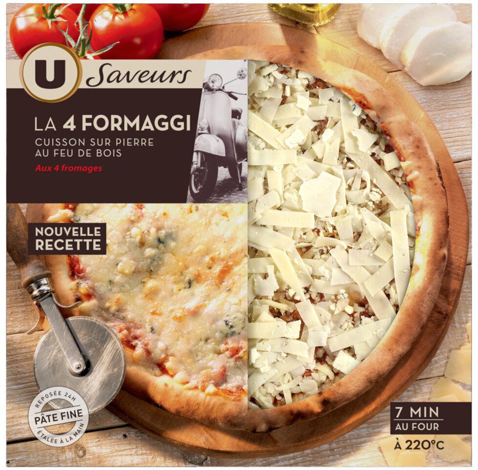 Pizza 4 formaggi saveurs - Produit - fr
