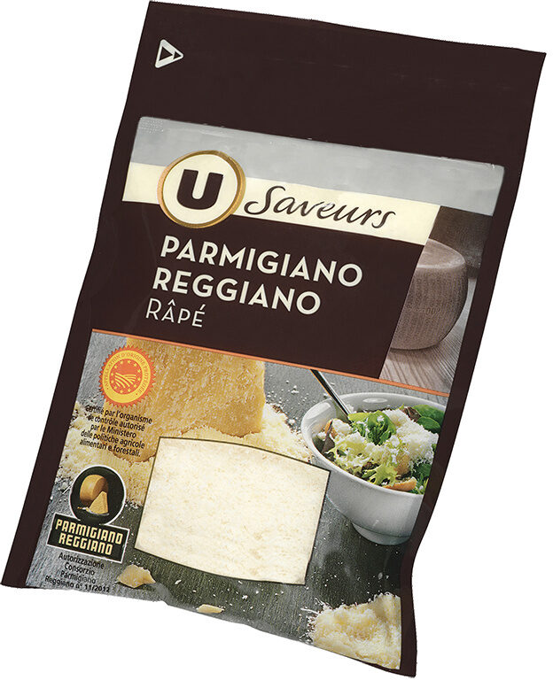 Parmigiano Reggiano Appelation d'Origine Protégée râpé lait cru 30% de MG - Product