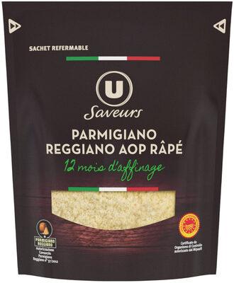 Parmigiano Reggiano AOP râpé au lait cru 30% de mg - Produit - fr