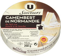 Camembert de Normandie AOP au lait cru 22%MG - Product - fr