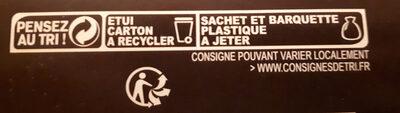 Petits épis pavot sésames - Instruction de recyclage et/ou information d'emballage - fr