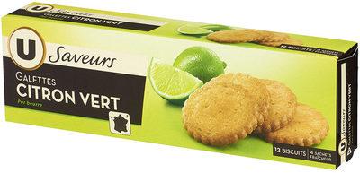 Galettes Citron Vert - Product